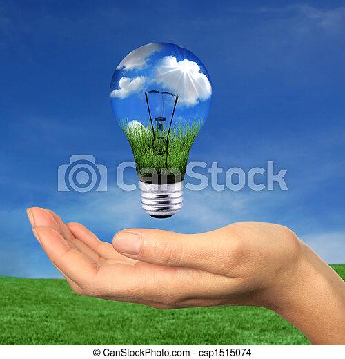 energia, wewnątrz, osiągać, odnawialny - csp1515074