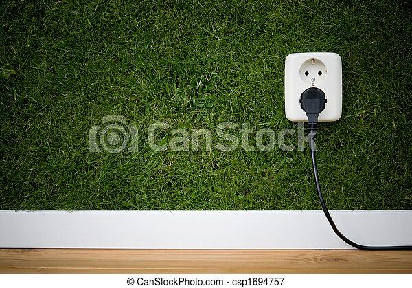 energia, zielony - csp1694757