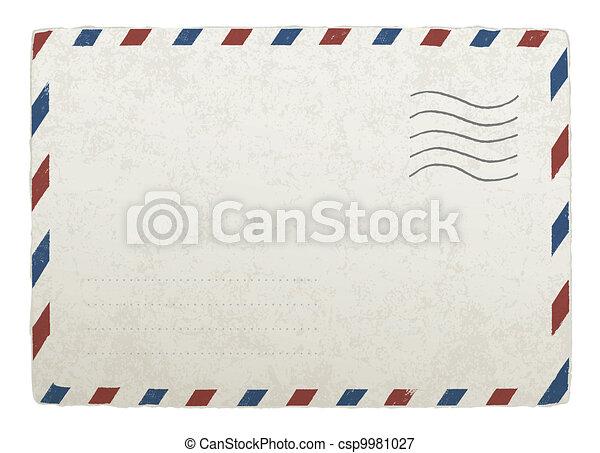 envelope., 10., rocznik wina, projekty, eps, wektor, szablon, opancerzanie, twój - csp9981027
