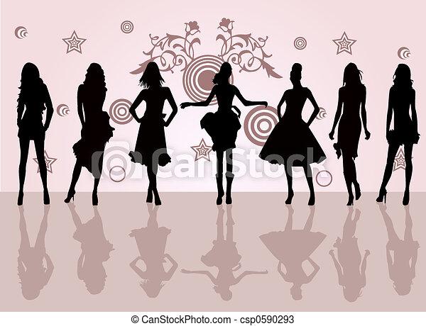 fason, dziewczyny - csp0590293