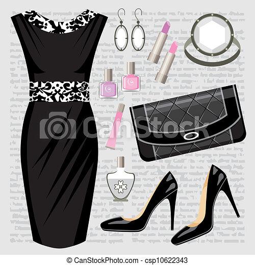 fason, strój, komplet - csp10622343