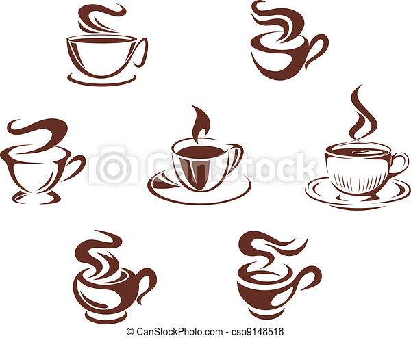 filiżanki kawy, frajerzy - csp9148518