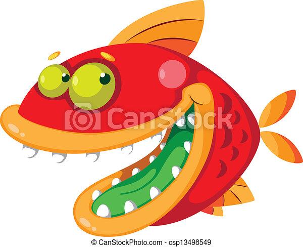 fish, pomylony - csp13498549
