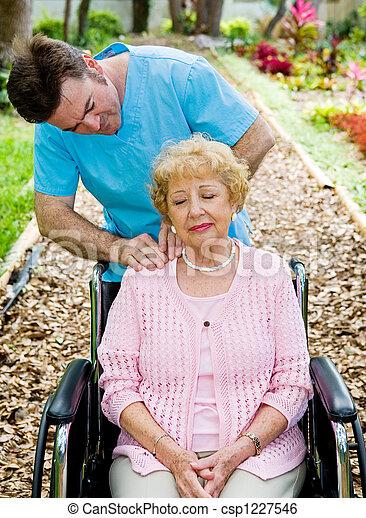 fizyczny, masaż, -, terapia - csp1227546