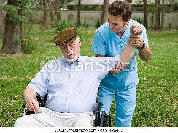 fizyczny, outdoors, terapia - csp1426487