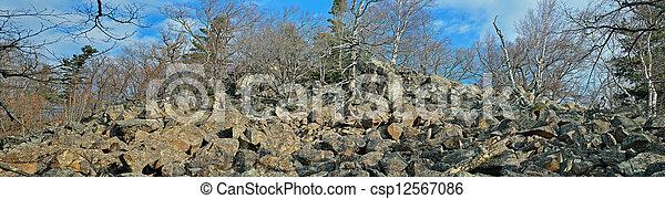 góra, 2, tajga - csp12567086