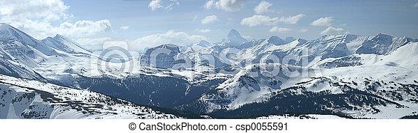 góra, panoramiczny - csp0055591