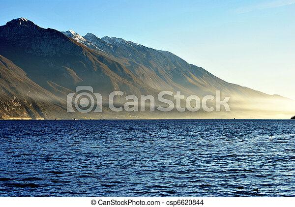 górskie jezioro - csp6620844