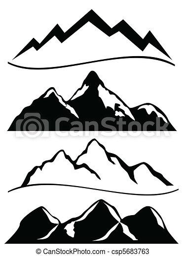 góry, różny - csp5683763