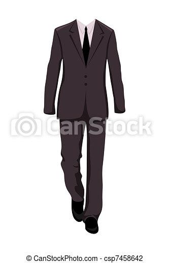 garnitur, zaprojektujcie elementy, samiec, handlowy - csp7458642