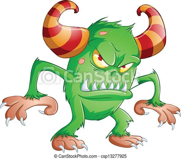 halloween, potwór - csp13277925