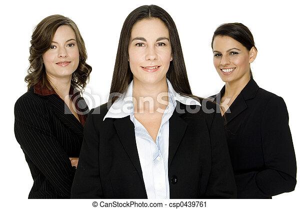 handlowe kobiety - csp0439761