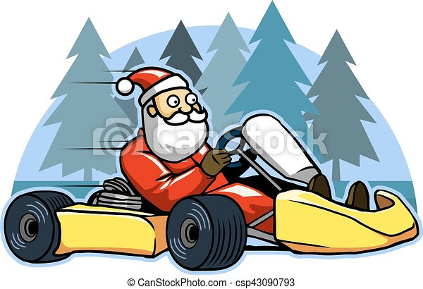 iść, karting, pasaż, mocny, święty - csp43090793