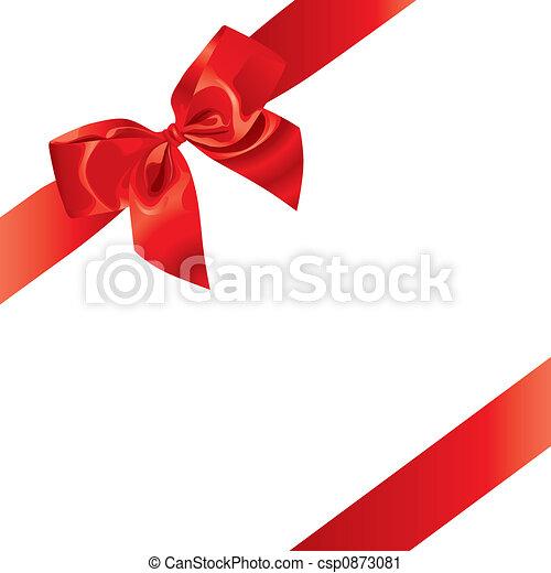 (illustration), świąteczny, łuk - csp0873081