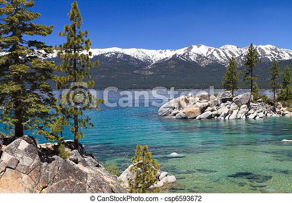 jezioro tahoe - csp6593672