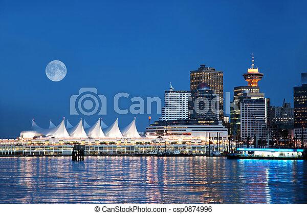 kanada miejsce, vancouver - csp0874996