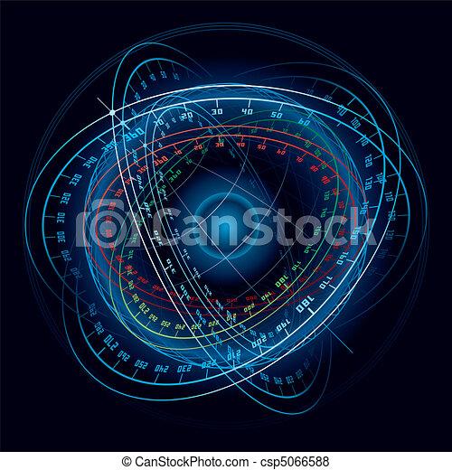 kaprys, sphere., nawigacja, przestrzeń - csp5066588