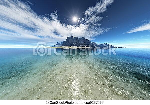 kaprys, wyspa - csp9357078