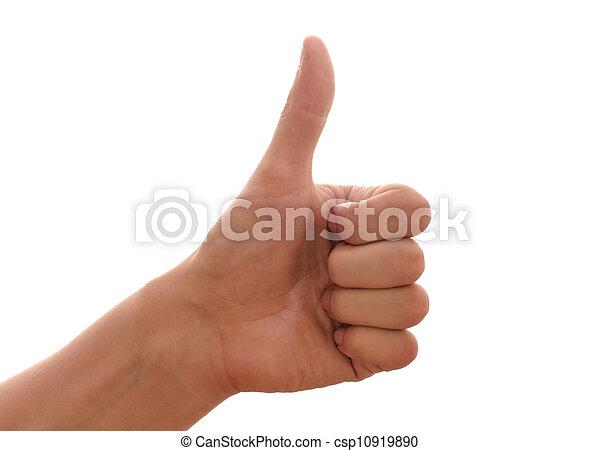 kciuki do góry - csp10919890