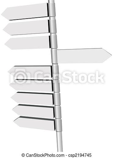 kierunek, kropka, znak, igns, nowy, poczta, zmiana - csp2194745