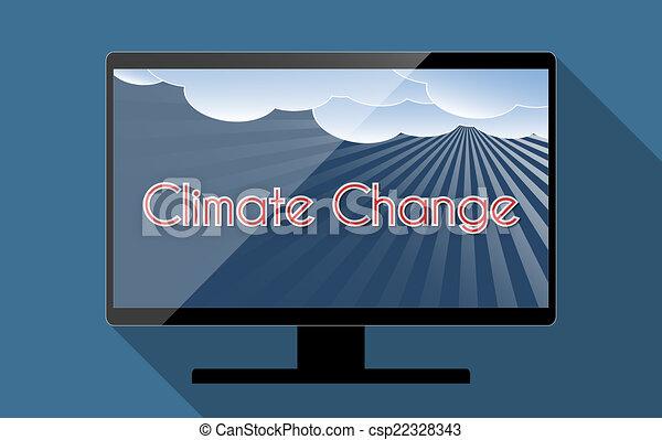 klimat zmiana - csp22328343