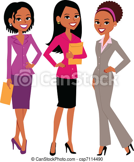 kobiety, grupa - csp7114490