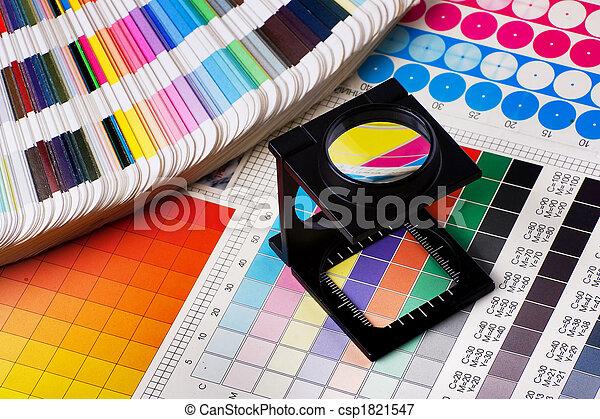 kolor, kierownictwo, komplet - csp1821547