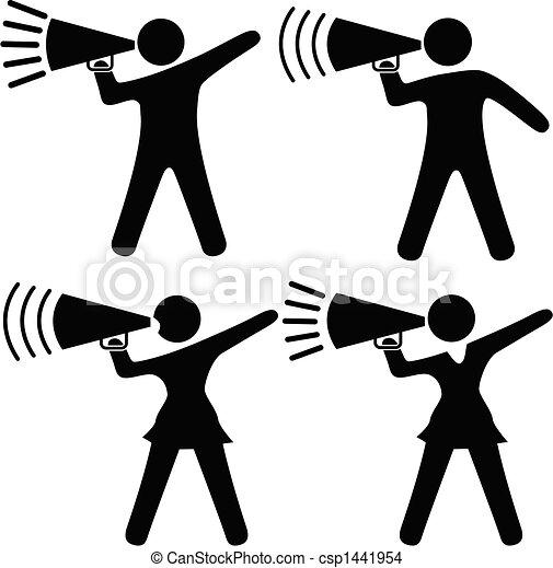 komplet, ludzie, symbol, &, cheerleader, sho - csp1441954