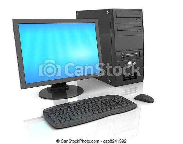 komputer, desktop - csp8241392