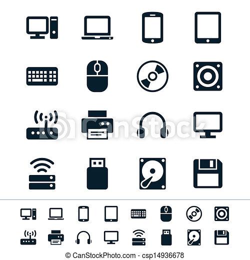 komputerowe ikony - csp14936678