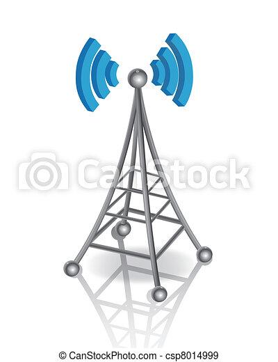 komunikacja, antena - csp8014999