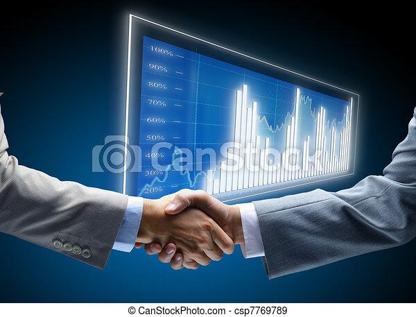 komunikacja, diagram, handlowy, tło, pojęcia, zatrudnienie, przyjaciele, przyjacielski, zbiorowy, porozumienie, przyjaźń, biznesmen, traf, transakcja, czarnoskóry, handel, początki, wystawa, ciemny, finanse - csp7769789