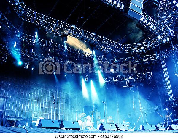 koncert, rusztowanie - csp0776902