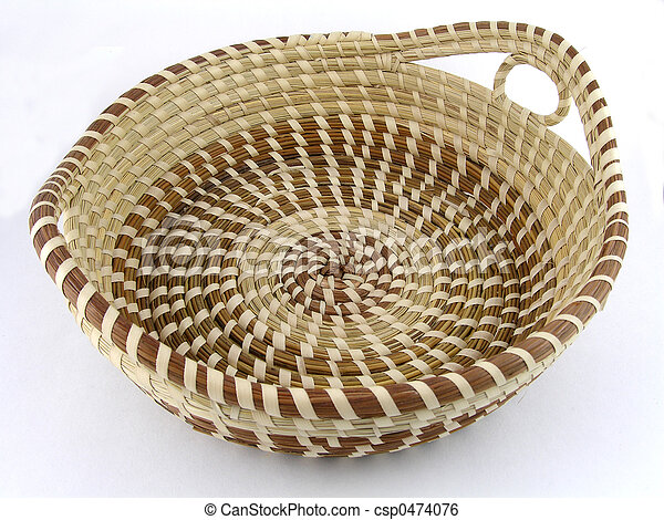 kosz, seagrass - csp0474076