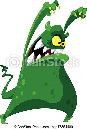 koszmarny, potwór - csp17854489