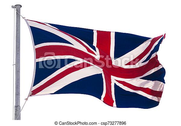 królestwo, bandera, zjednoczony - csp73277896