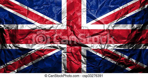 królestwo, flag., zjednoczony - csp33276391