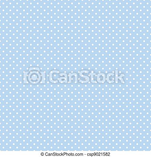 kropkuje, błękitny, pastel, seamless, polka - csp9021582
