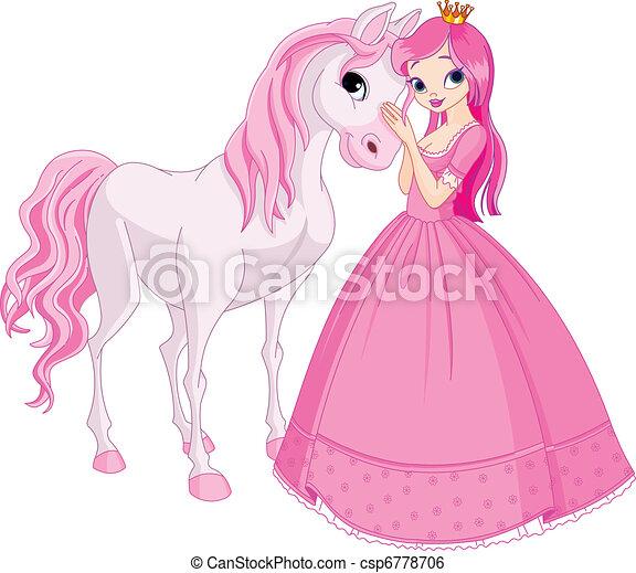 księżna, koń, piękny - csp6778706