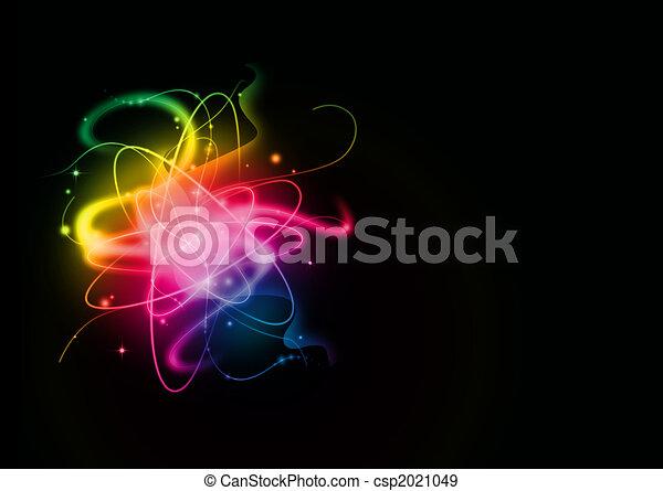lekki, abstrakcyjny, tło - csp2021049