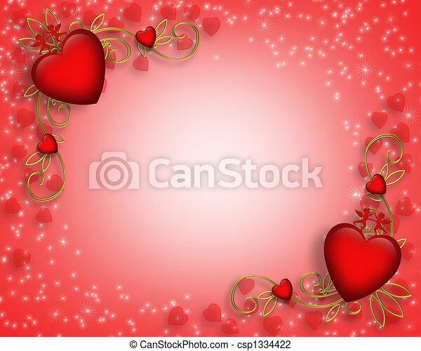 list miłosny, brzeg, dzień - csp1334422
