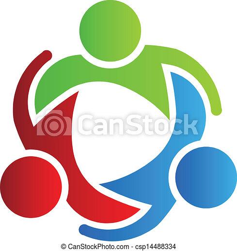 logo, 3, projektować, handlowy wzmacniacz - csp14488334
