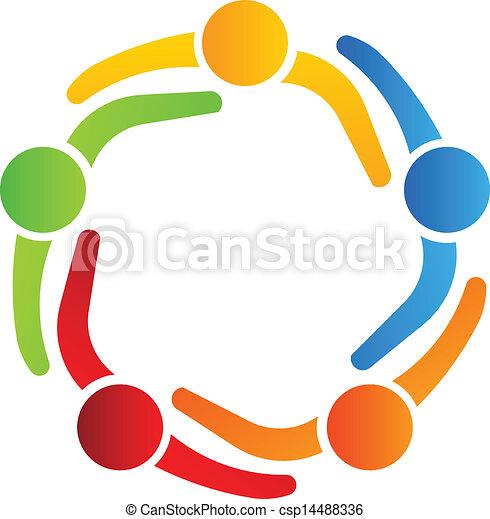 logo, 5, projektować, handlowy wzmacniacz - csp14488336