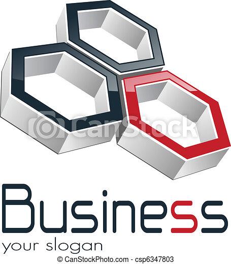 logo, handlowy - csp6347803