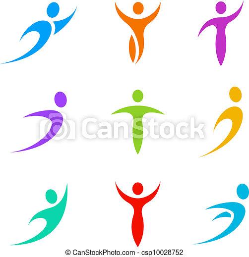 logo, sport, handlowy - csp10028752
