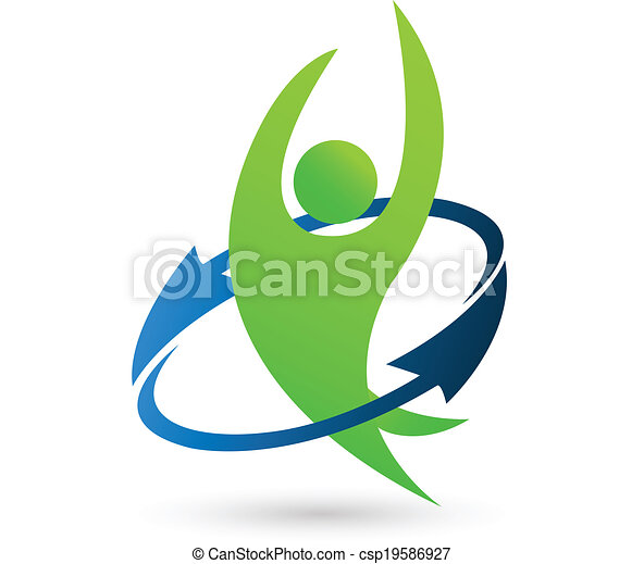 logo, zdrowie, natura - csp19586927