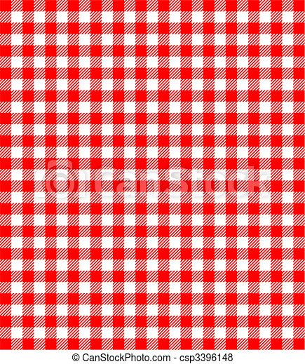 ludowy, tło, czerwony biel - csp3396148