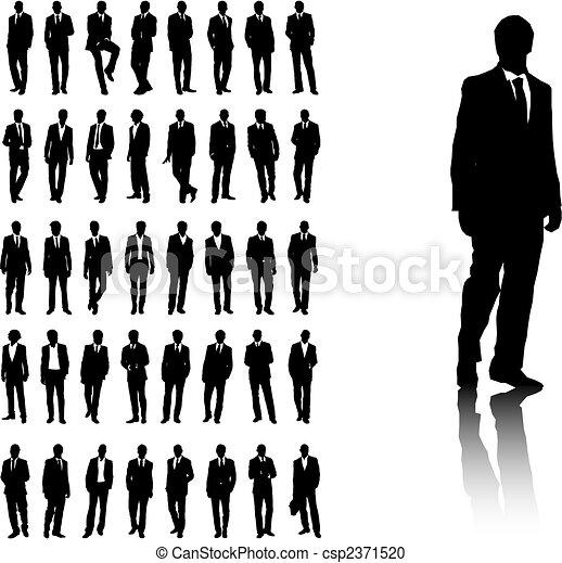 mężczyźni, handlowy - csp2371520