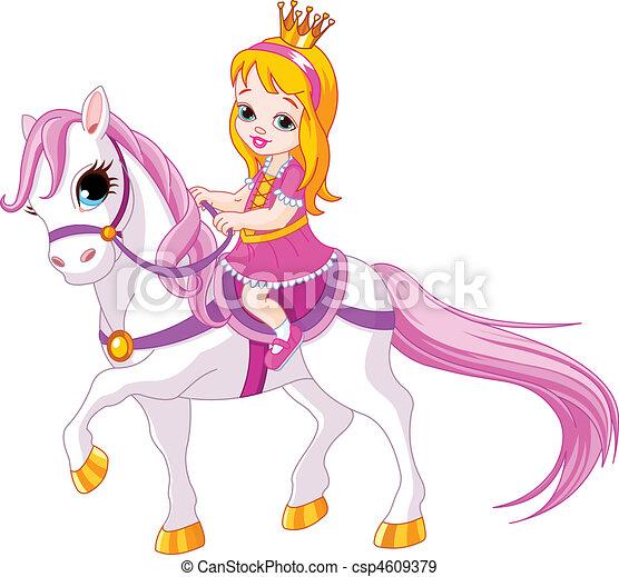 mała księżna, koń - csp4609379