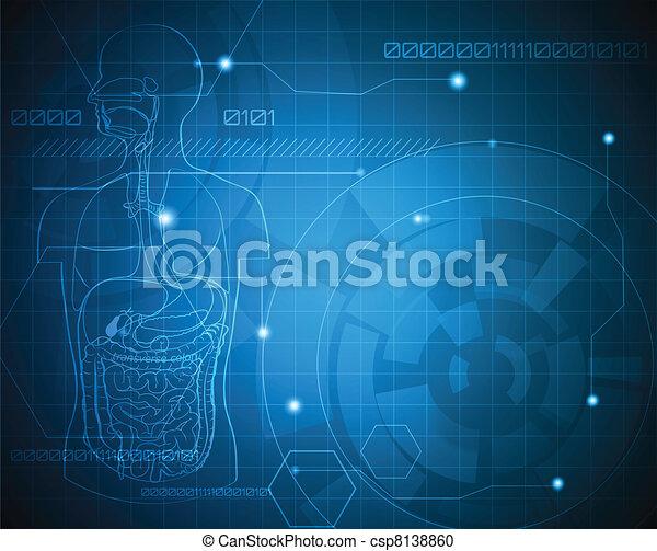 medyczny, tło - csp8138860